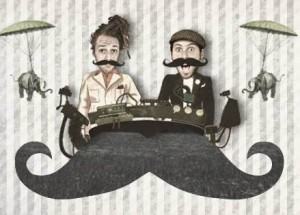 Moustache swing party alla Flog di Firenze