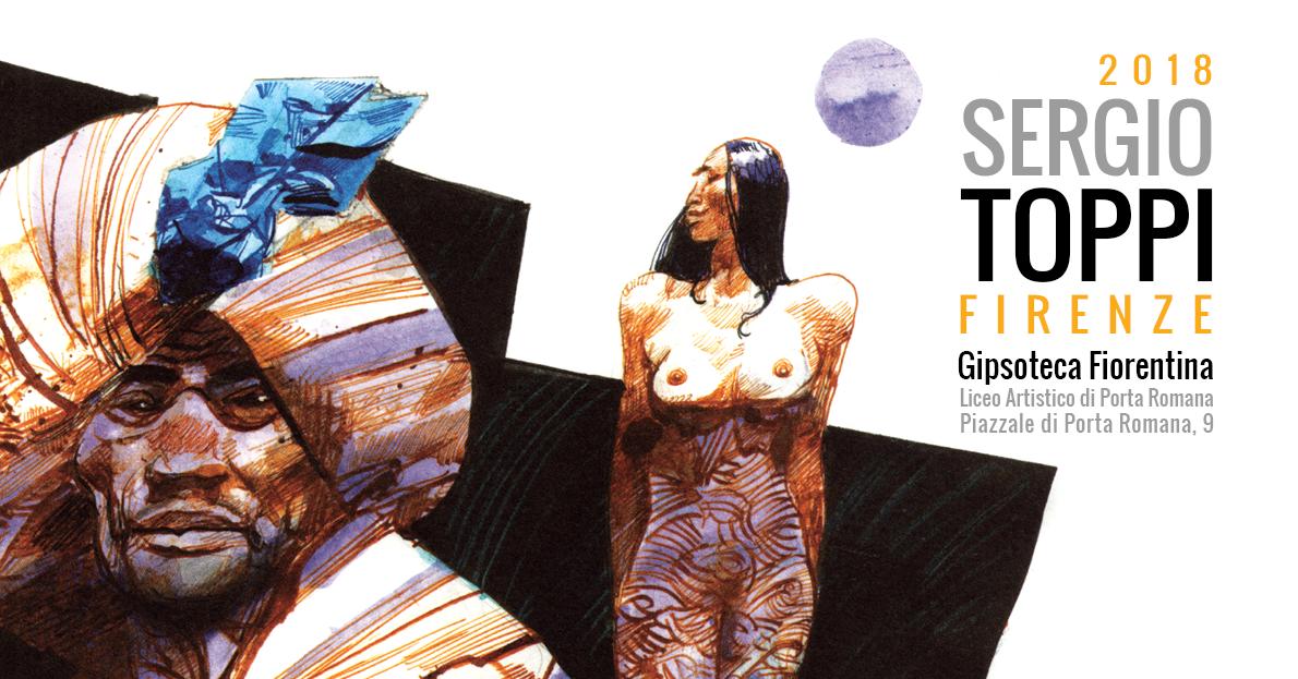 Sergio Toppi in mostra a Firenze